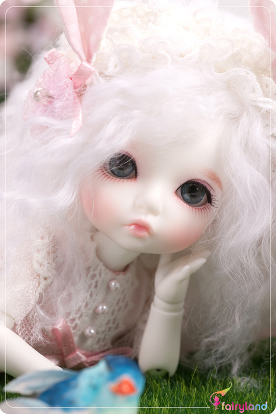 Free shipping ! facemakeup and eyes included! fairyland pukiFee Bonnie top quality 1/8 bjd baby doll best gifts(China (Mainland))