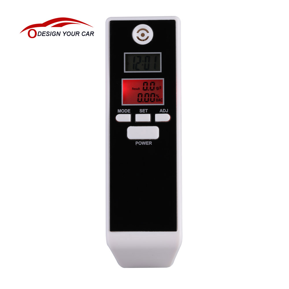 LCD Digital Breathalyzer Alcohol Tester Professional Breath Parking Detector Gadget with Backlight Driving Essentials PFT-661S(China (Mainland))