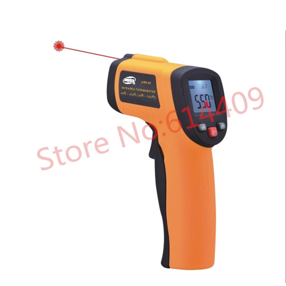 GM300 Non-contact Digital Laser IR Infrared Thermometer Temperature Gun Range:(-58~716 F)/ (-50 ~ 380 C) <br><br>Aliexpress