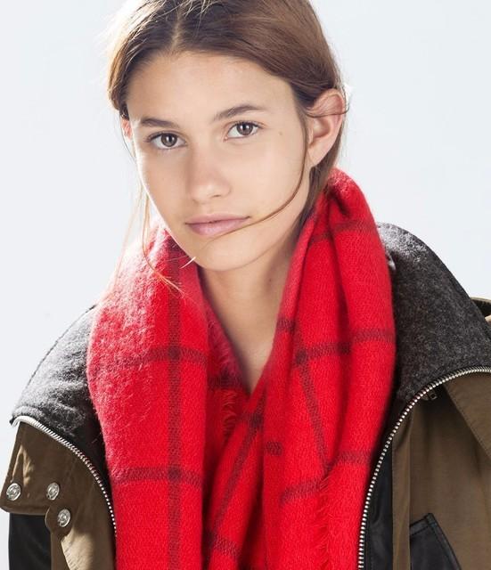 180 см * 90 см новинка 2016 зимой теплый красный плед женщины длинный шарф