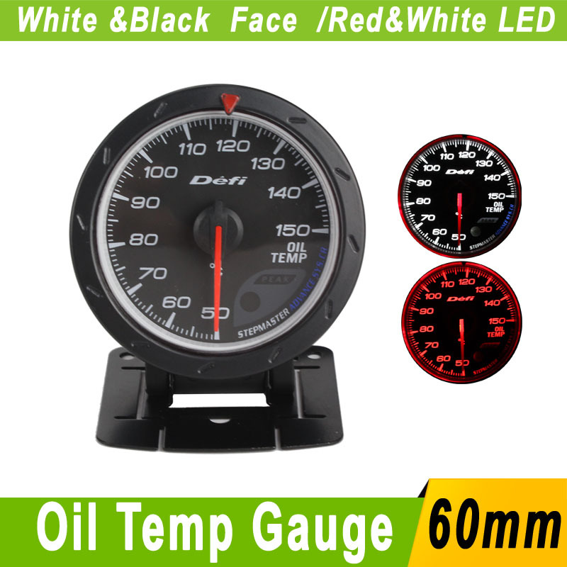 Universal Auto Gauges : Mm universal car oil temp gauge meter sensor defi