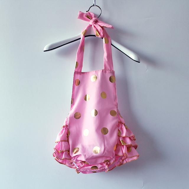 Рябить девочка Ползунки, Горошек Девушки Пузыря Промах, удобный хлопок дети женский пляжный костюм