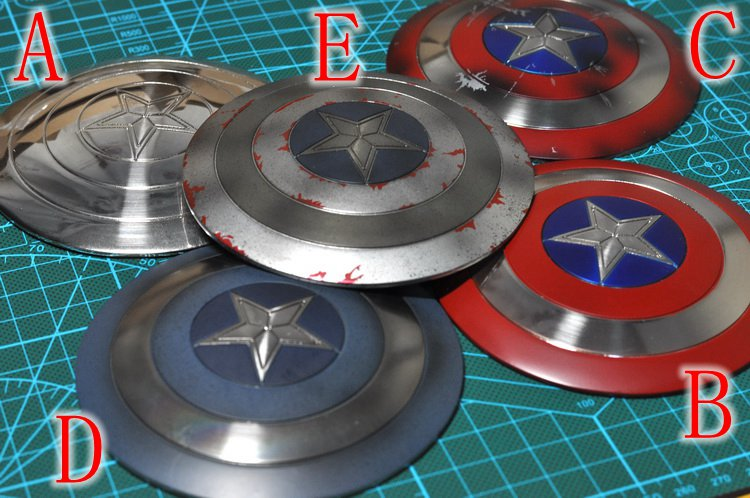 1/6 scale doll Shield for 12