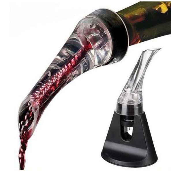 creative wine Pouring mini travel wine aerators wine stopper kitchen living decoration(China (Mainland))