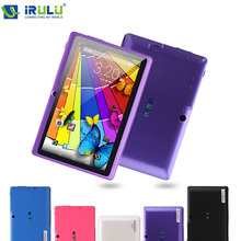 "IRULU eXpro 7"" Tablet PC Android 4.4 1.5GHz 8GB ROM Quad Core Dual Camera External 3G WIFI Multi-Colors New Newest Hot 9 10(China (Mainland))"