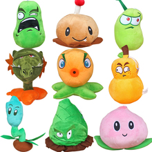 Buy 9pcs/lot 15-20cm Plants vs Zombies 2 Plants Stuffed Plush Toys Doll Games PVZ Soft Plush Toy Brinquedos Kids Christmas Gifts for $35.55 in AliExpress store