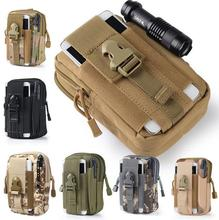 New Arrival Tactical Molle Pouch Belt Waist Pack Bag Small Pocket Military Waist Fanny Pack Phone Pocket for Samsung for iphone