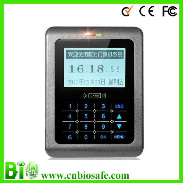 13.56Mhz IC Card Door Keypad Access Control System HF-CK20IC Time Attendance Standard(China (Mainland))