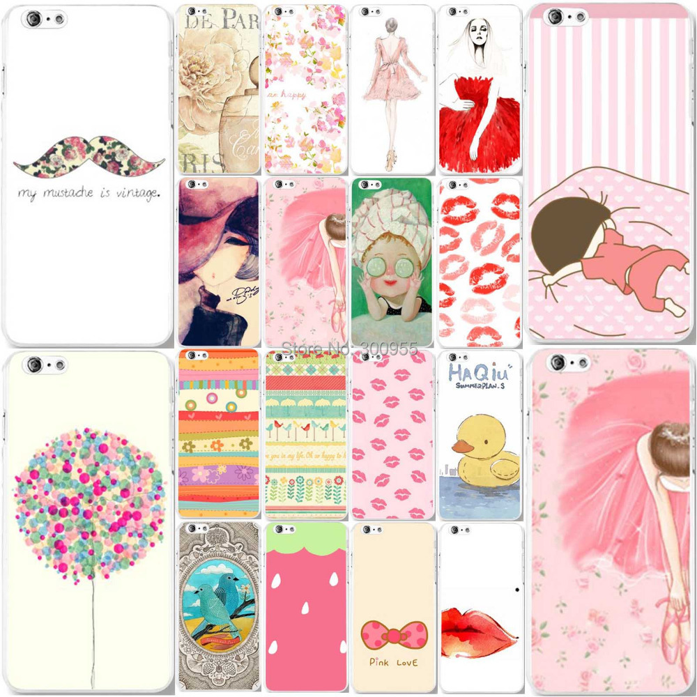 Fashion Various Patterns Hard PC Phone Case Covers iPhone 6 Plus 6s plus 5.5 inch Cellphone Back Cover Skin Shell - poplar1115 store