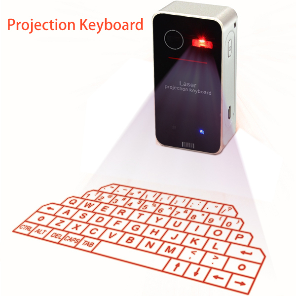 projected keyboard Description product name: portable virtual laser keyboard and mouse for ipad iphone tablet pc, bluetooth projection projected keyboard wireless speaker.