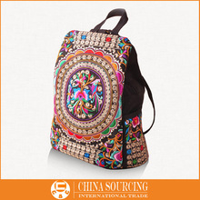 Wholesale in Embroidered School bags, Handmade backpack, Embroidery Clutches,National Bolsos Mujer are available in stock C0603(China (Mainland))