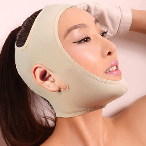 Delicate Facial Slimming Bandage Skin Care Belt Shape And Lift Reduce Double Chin Face Mask Face Thining(China (Mainland))