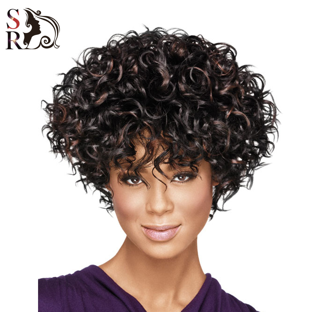 Natural K Curl Wigs African Women Wigs Kinky Curly