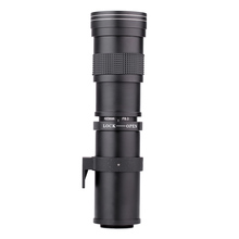 Kelda 420-800mm F/8.3-16 Super Telephoto Manual Zoom Lens for Canon EOS EF Nikon DSLR Camera(China (Mainland))