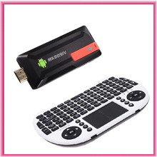 MK809 IV RK3188T Quad Core Mini PC Android TV Box Wifi 2GB 8GB Built-in Bluetooth IPTV + I8 Keyboard air mouse touchpad remote(China (Mainland))