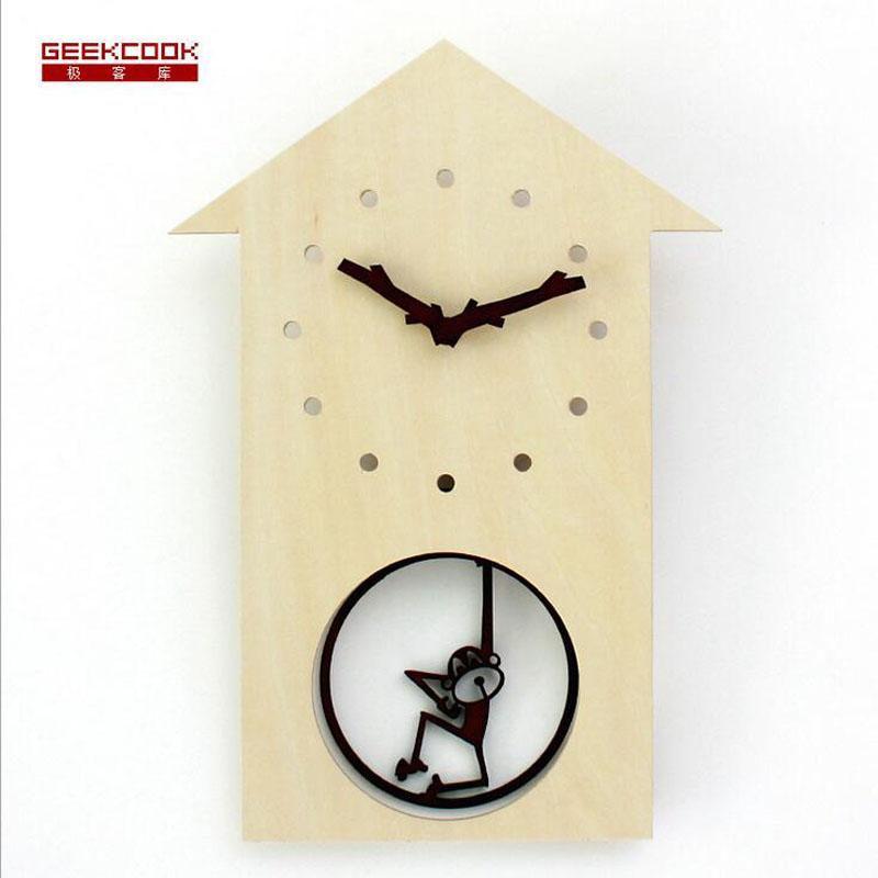 Singe horloge promotion achetez des singe horloge - Mecanismo reloj pared barato ...