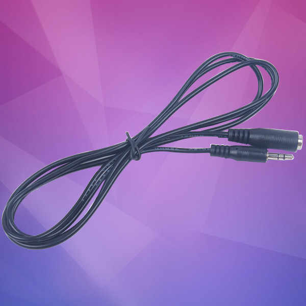 Free Shipping 3M 10ft 3.5mm Jack Male to Female M/F Audio Stereo Earphone Extension Cable Cord(China (Mainland))