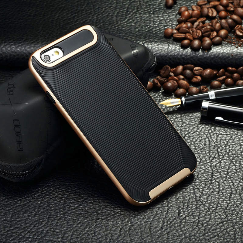 Plastic + Silicon Armor Case for Apple iPhone 7 plus 6S 5S SE 4S 6 PLUS SE full protection shock proof TPU phone cover bags v1(China (Mainland))