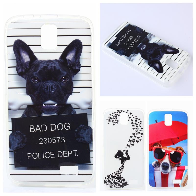 Fashion Bad dog cute Cartoon Soft TPU Case For Lenovo A328 A328T Rubber silicone Skin For Lenovo A 328 Back Cover(China (Mainland))