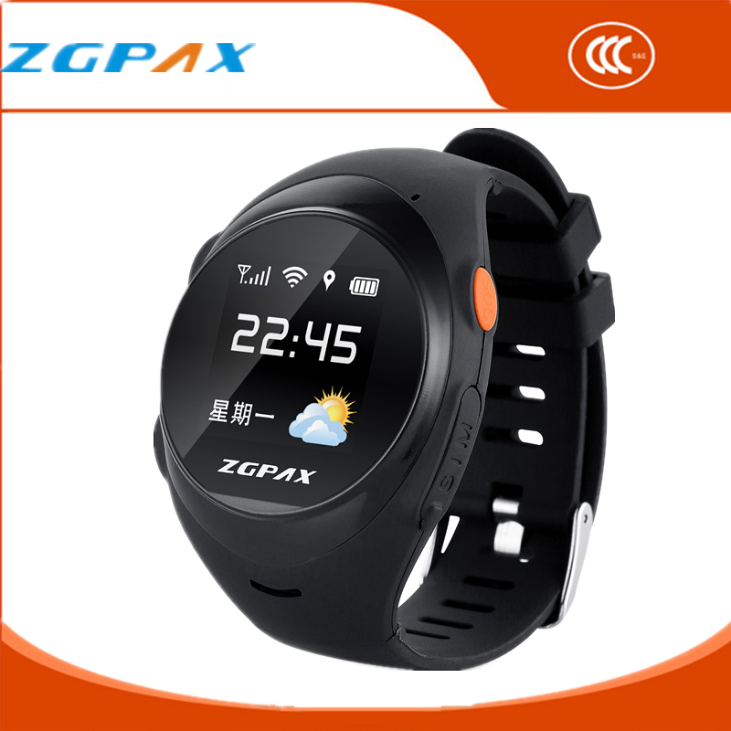 ZGPAX S888 Runtastic GPS Sport Watch Smart Phone Old People Wrist Watch Barometer Mobile Wristwatch Men's Watches Reloj Celular(China (Mainland))