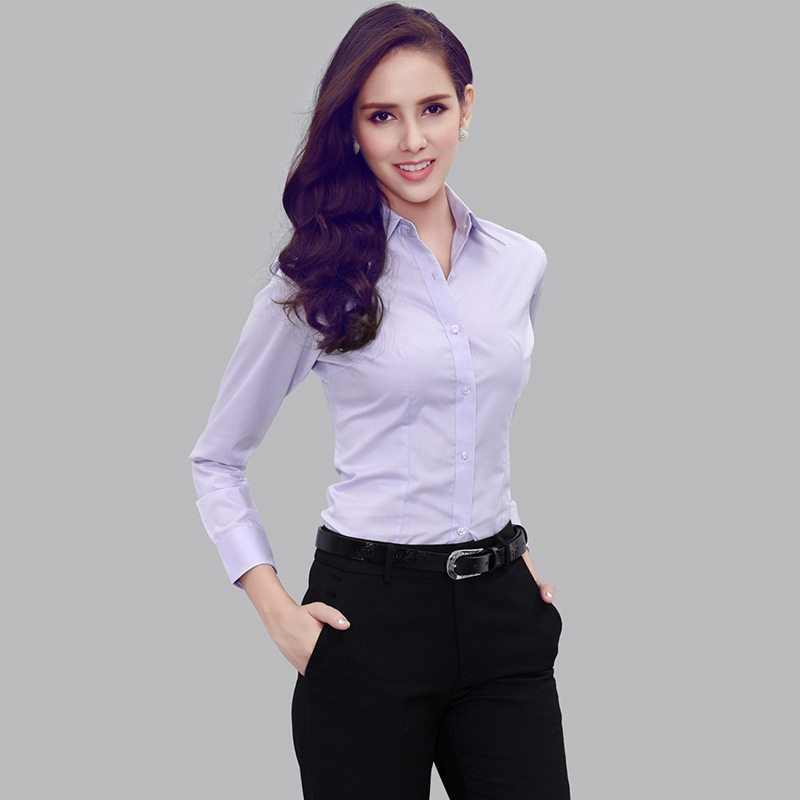 Womens business shirts artee shirt for Women s broadcloth shirts