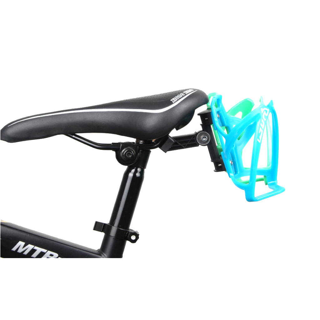 Perfeclan Bike Cup Holder Double Bottle Mount Kettle Cage Extension Frame