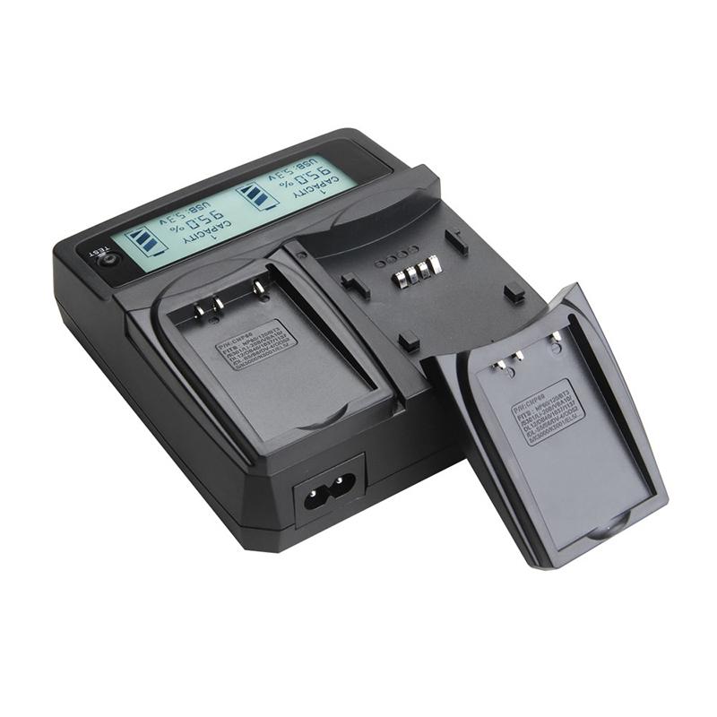 Udoli EN EL15 EN EL15 ENEL15 Battery Dual Charger For Nikon D600 D800 D800E D7000 D7100