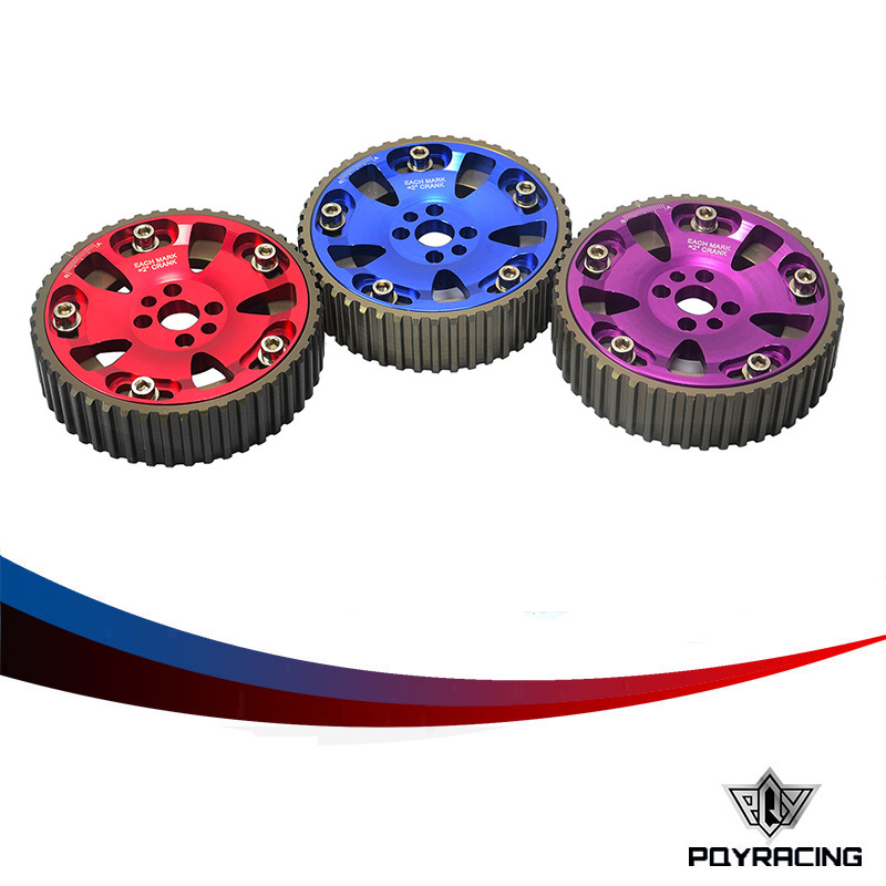 PQY STORE-(One Pair)CAM GEARS KIT FOR NISSAN SKYLINE RB20 RB25 RB26 R32 R33 R34 PQY6536(China (Mainland))