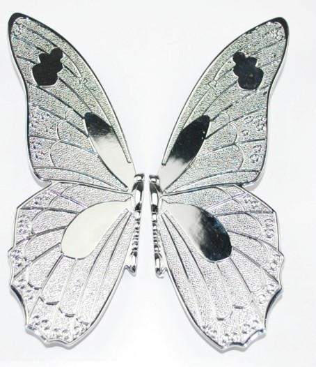 Chrome Plated Butterfly Pull Handle Cabinet (Size:18*17*1.5mm)(China (Mainland))
