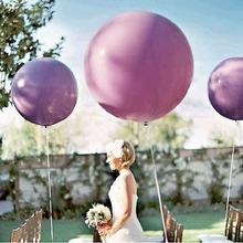 "Wedding Decoration 36"" 90CM Helium Big Latex Party Large Giant Balloons Decoration Metallic Inflatable Air Balloons Arch 1 pcs(China (Mainland))"
