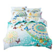 Svetanya Morocco boho bedding set queen double size sheet+comforter case+pillowcase 4pcs cotton bed Linen sets fast shipping(China (Mainland))