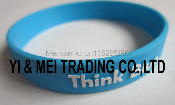 Silicon wristband/rubber wristband/plastic band/bracelets/bangle/wrist strap/cuff/promotional gifts/cheap gifts/customed present(China (Mainland))