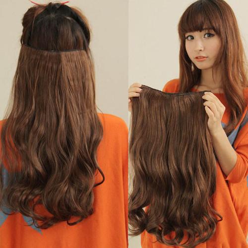 Натуральные накладные волосы на заколках купить