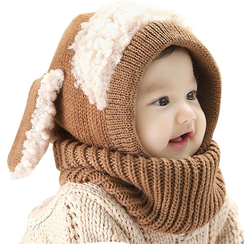 Baby-Hat-With-Scarf-Toddler-Winter-Beanie-Warm-Hat-Hooded-Scarf-Earflap-Knied-Cap-Cute-Cartoon (4)