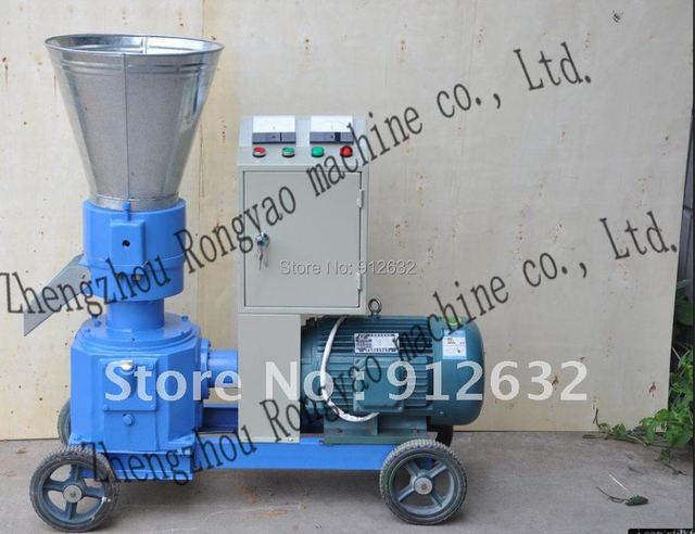 $OCEANSHIP  200-300kg/h homeuse flat-die feed pellet machine , poultry feed pellet mill