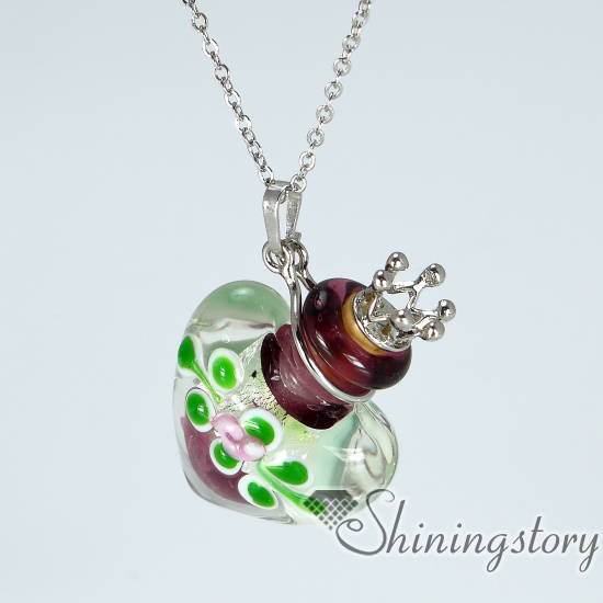 aromatherapy jewelry scents handcrafted glass