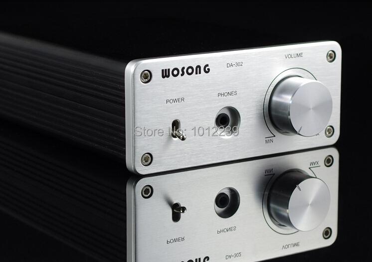 DA-302 TA2020 digital amplifier DAC decoder 24bit / 192KHZ USB soundcard amp(China (Mainland))