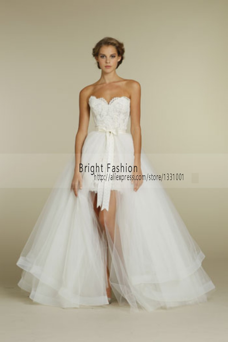 Buy 2016 Detachable Skirt Wedding Dress