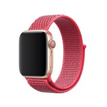 Хохлатая Спортивная петля ремешок для Apple Watch группа 4 42 мм 38 3 iwatch Группа 44 40 correa нейлон наручный браслет, ремешок интимные аксессуары(China)