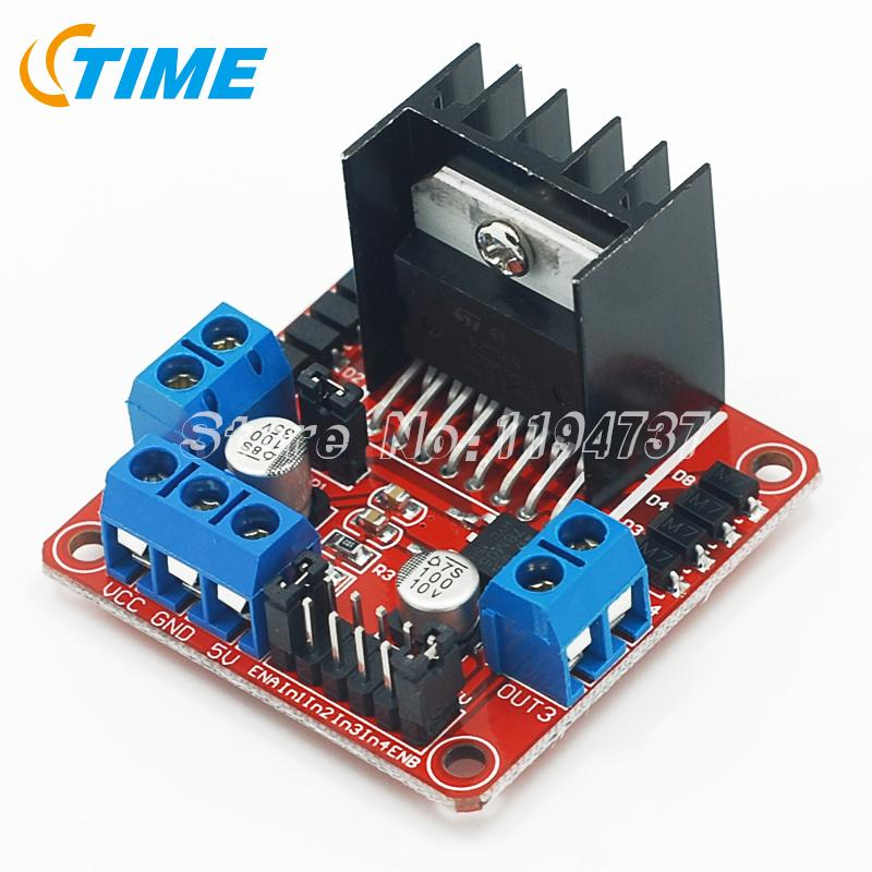 L298N Module Dual H Bridge Stepper Motor Driver Board Modules Arduino Smart Car - STIME Electronics Technology Co., Ltd. store