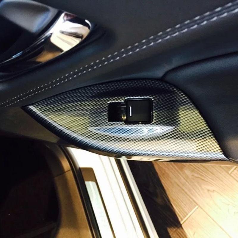 High Quality Car Interior Accessories Carbon Fiber Armrest Panel Cover For Honda For Spirior 2015(China (Mainland))