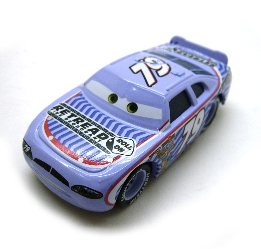 Pixar Movie Cars Diecast Toy # 79 Race O Rama Pit Race-Off Retre Loose(China (Mainland))