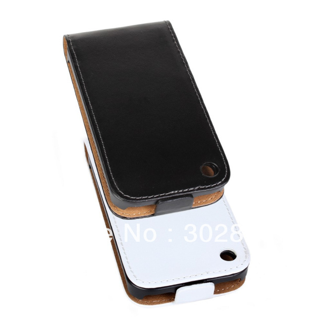 For iPhone 3GS Real Leather Case,Flip Genuine Leather Case For iPhone 3G/3GS(China (Mainland))