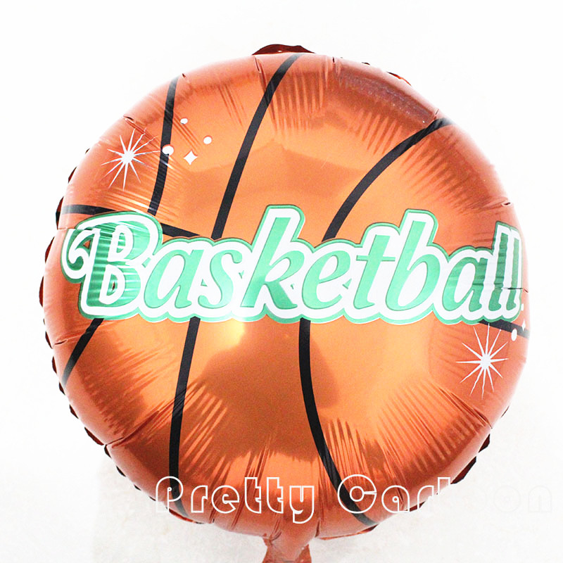 18 Basketball Balloons Football Aluminum Balloons Happy Birthday Decoration Globos Party Ballon Palloncini Kids Toys<br><br>Aliexpress