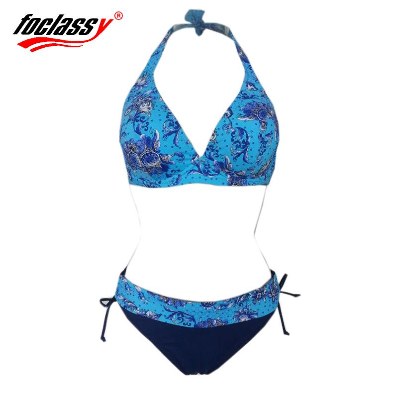 Bathing Suit Push up and Super Large Cup Bikinis set Women Swimwear Sexy Swimsuit Brand Fashion Plus size Bikini women(China (Mainland))