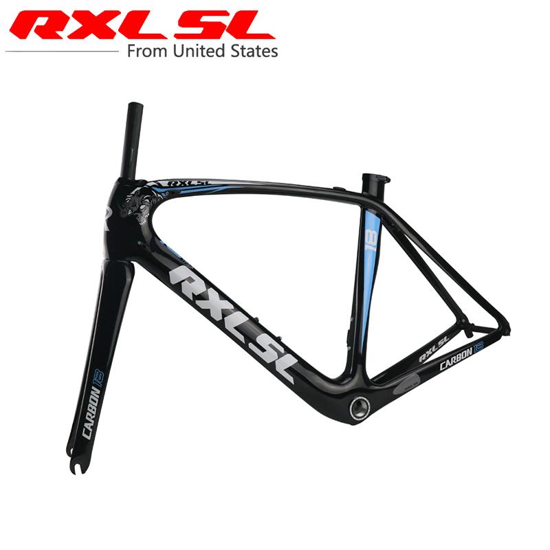 Carbon Frame Bicycle Frames Road Bike Frame RXL SL Ultra-light Breaking Wind 1K/3k/UD Gloss/Matte BSA68/BB30/PF/30 zj001(China (Mainland))
