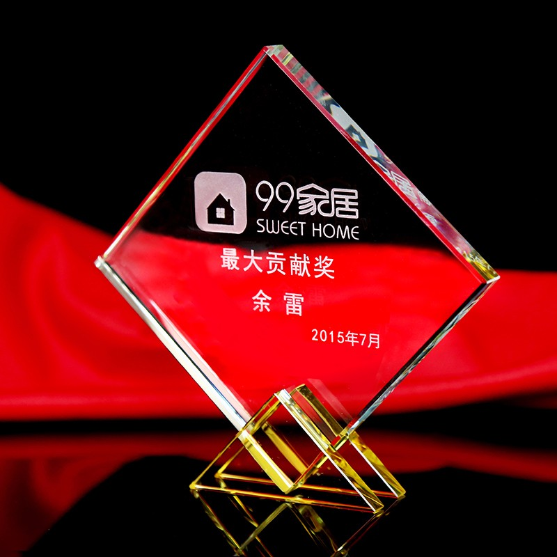 Grade Sports Event Crystal trophies and awards 2 Colors Customized Basketball Football Golf Tennis Champions Cup Trophy Keepsake(China (Mainland))