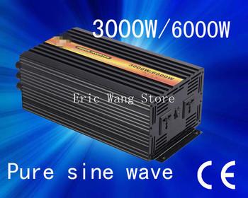 Best quality!!3kw dc12v-ac220v230v/AC100V/AC110V ,pure sine wave ,solar inverter/ power inverter (CP-P-3000W)