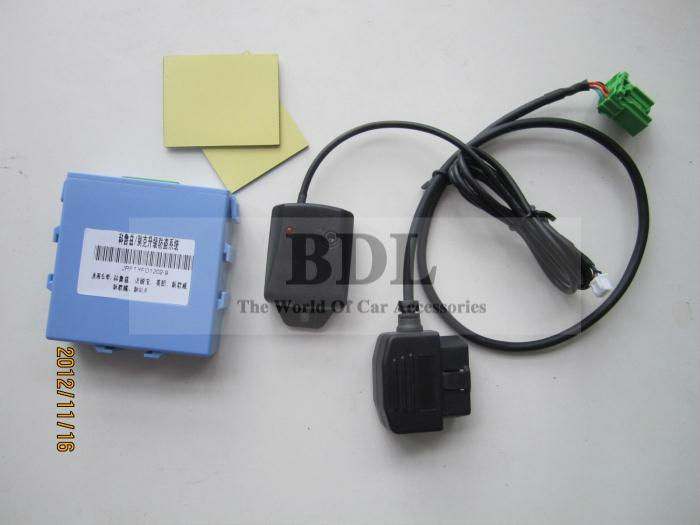 CANBUS OBD Shock Sensor Adjustable Car Alarm security system for Buick Encore(China (Mainland))