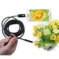 2 in 1 5M 5 5mm LED Android USB Endoscope Waterproof Inspection Borescope Tube Snake Video